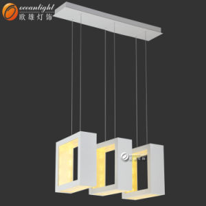 2017 New Design LED Crystal Pendant Lamps Square Decorative Pendant Lamps for Hotel Om66148 pictures & photos