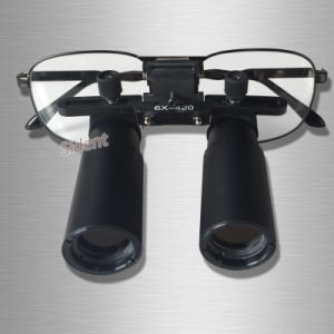6X420mm Custom-Made Dental Loupe Binocular Medical Magnifying Ttl Compound Optic pictures & photos