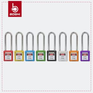 Long Steel Shackle ABS Body Safety Padlock (BD-G21) pictures & photos
