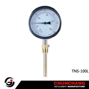 Stainless Steel Hydraulic Temperature Pressure Gauge pictures & photos