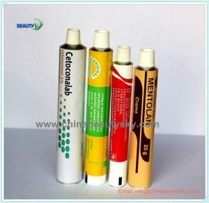 Pharmaceutical Packaging White Painting Skin Care Eye Cream Ointment Aluminum Collapsible Tube pictures & photos