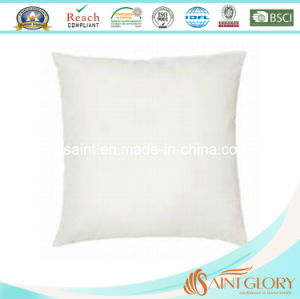 Duck Feather Down Cushion Inner with Pure Cotton 233tc Casing pictures & photos