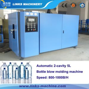 2500bph Automatic Pet Bottle Blow Molding Machine for Water / Beverage Bottle pictures & photos