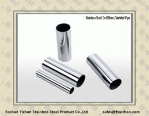 ASTM A554 Grade 201 304 Stainless Steel Welded Tube pictures & photos