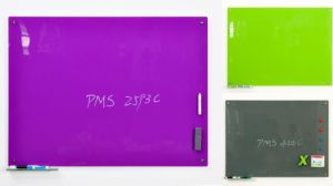 Fresh Colored Glass Dry Wipe Writing Whiteboard with Ce, SGS, En71 Certificated pictures & photos