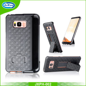 2 in 1 Plastic Case Phone Holster Kickstand Case for Samsung Galaxy S8 Plus pictures & photos