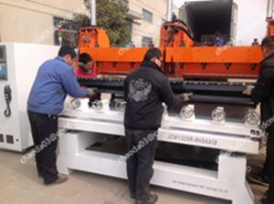 Multihead 3D Wood Carving CNC Router 5 Axis pictures & photos