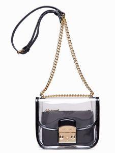 Transparent Bag for Ladies Shoulder Bag Candy Color Bag pictures & photos