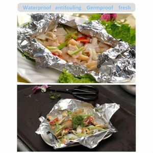 Household Square Aluminium Foil Container for Storage Food pictures & photos