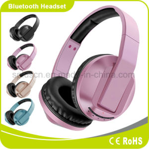 Rose Foldable Hi-Fi Noise Cancelling Music Bluetooth Headphone pictures & photos