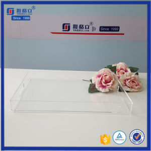 Wholesale Acrylic Tray Square Serving Tray for Food pictures & photos