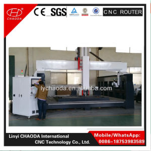 Hot Sale 5 Axis CNC Marble Statue Drilling Machinery Jcs1020hl pictures & photos
