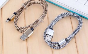 1m 1.5m 2m 3m Nylon Braided Android V8 for Samsung Type C Charging Data Micro USB Cable pictures & photos