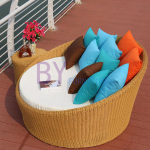 Leisure PE Rattan Lyingbed Sunbed Outdoor Furniture pictures & photos