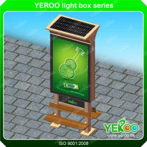 Outdoor Street Sign Solar Mupi Advertising Solar Light Box pictures & photos