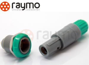 Alternative Plastic Redel P Series Pag 2 Pin Medical Connector pictures & photos