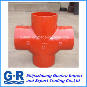 En 877 88 Degree Double Branch Fitting for Water Drainage pictures & photos
