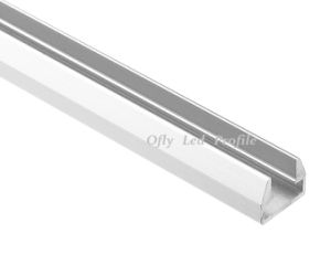 14.5*11.4mm Aluminium Profile for LED Glass Shelf Light pictures & photos