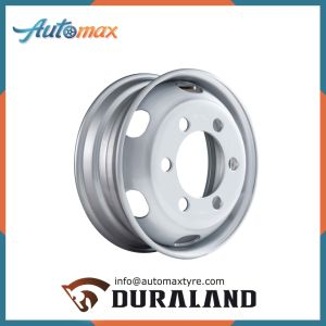 Tubeless Steel Wheel Rim for Truck Tyre pictures & photos