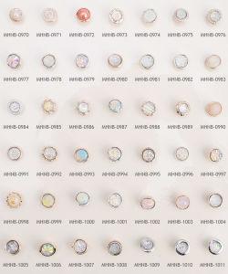 Wholesale Shimmering Fancy Plastic Buttons pictures & photos