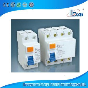 ID 4pole 40A 30mA 100mA RCCB Residual Current Circuit Breakers pictures & photos