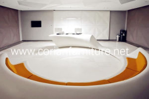 Circle Round Corian Shaped Waiting Area Sofa pictures & photos