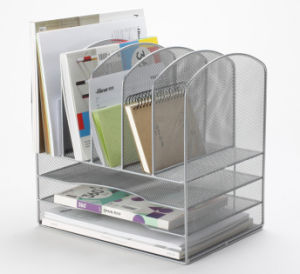 Desk Organizer Accessories/ Metal Mesh Stationery Organizer/ Office Desk Accessories pictures & photos