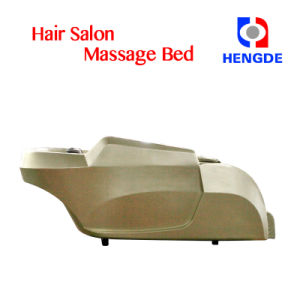 Golden Color Deluxe Hair Washing Shampoo Massage Chair Bed pictures & photos
