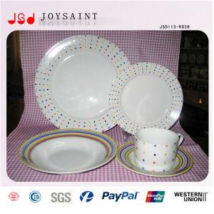 Wholesale Cheap Dinner Porcelain Plates Fruit Plates pictures & photos