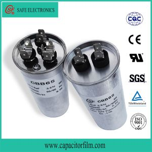 Cbb60 Plastic Case Metallized Polypropylene Film Capacitor for Pump Used pictures & photos