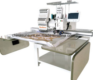 Multifunctional 1+1 Mixed Embroidery Machine Ss1201 1+1 pictures & photos