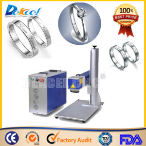 CNC Ring Marking Machine 30W Fiber Laser Marker pictures & photos