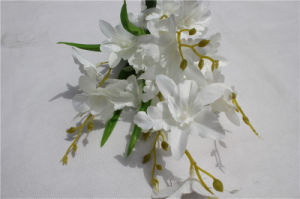 Factory Wholesale Wedding White Artificial Flowers Orchid pictures & photos