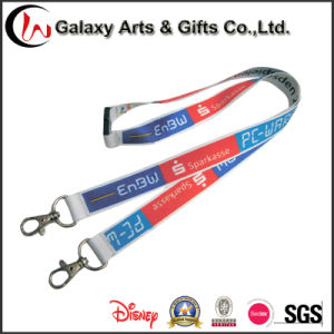 2017 Popular Office Products Polyester Neck Strap Universal ID Card Lanyard pictures & photos