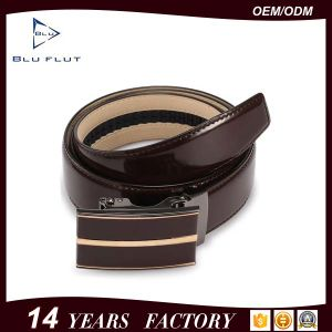 China Men Leather Belt Factory Genuine Cowhide Leather Waist Belts pictures & photos