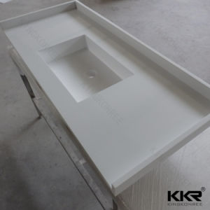 Wholesale Custom Kitchen Benchtop Solid Surface Countertop pictures & photos