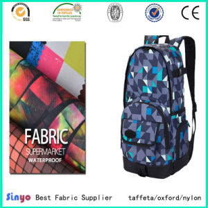 PU Coated 100% Polyester 900d Cordura Printed Fabric for Bags pictures & photos