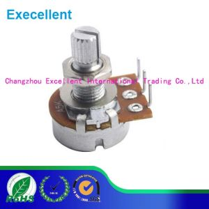 16mm Metal Shaft Rotary Potentiometer pictures & photos