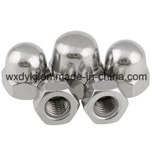 Stainless Steel 304 A2-70 Hexagon Acorn Nuts pictures & photos