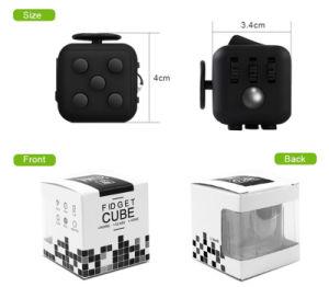 Wholesale 3D Magic Cube Stress Release Fidget Desk Toy Puzzle Cube Fidget Cube pictures & photos