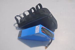 New 52V 17.5-24.5ah Triangle Battery Pack for Electric Bike by 14s7p pictures & photos