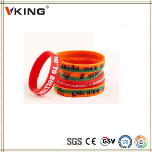 Popular Wholesales Custom Elastic Wristbands pictures & photos