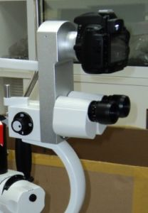 Integrated Beam Splitter and Camera Adapter for Zeiss SL-115 Slit Lamp pictures & photos