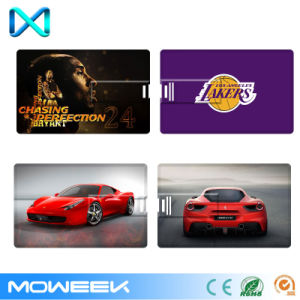 Promotion Custom Logo USB Key Credit Card USB Flash Drive pictures & photos