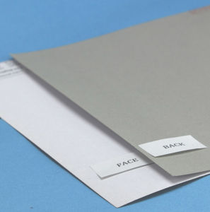 White-Lined One-Side Coated Duplex Paperboard Grey Back pictures & photos