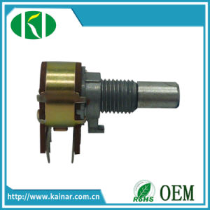 Wholesale Price 12mm Rotary Precision Audio Potentiometer with 6 Pin pictures & photos