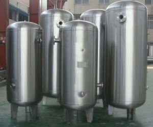 0.1m3-1.0m3 Stainless Steel Air Storage Tank (pressure vessel) pictures & photos