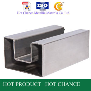 Stainless Steel Square Slot Pipe pictures & photos