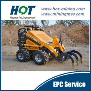 Loading Equipment Mini Skid Steer Loader pictures & photos