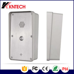 SIP Intercom Knzd-45 Public Telephone with Built-in Entry System pictures & photos